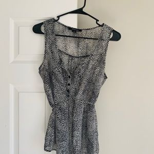 Forever 21 Tied Blouse